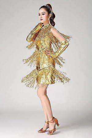 Lentejuelas Brillante Vestido de Danza Ballet Baile Mujer ...