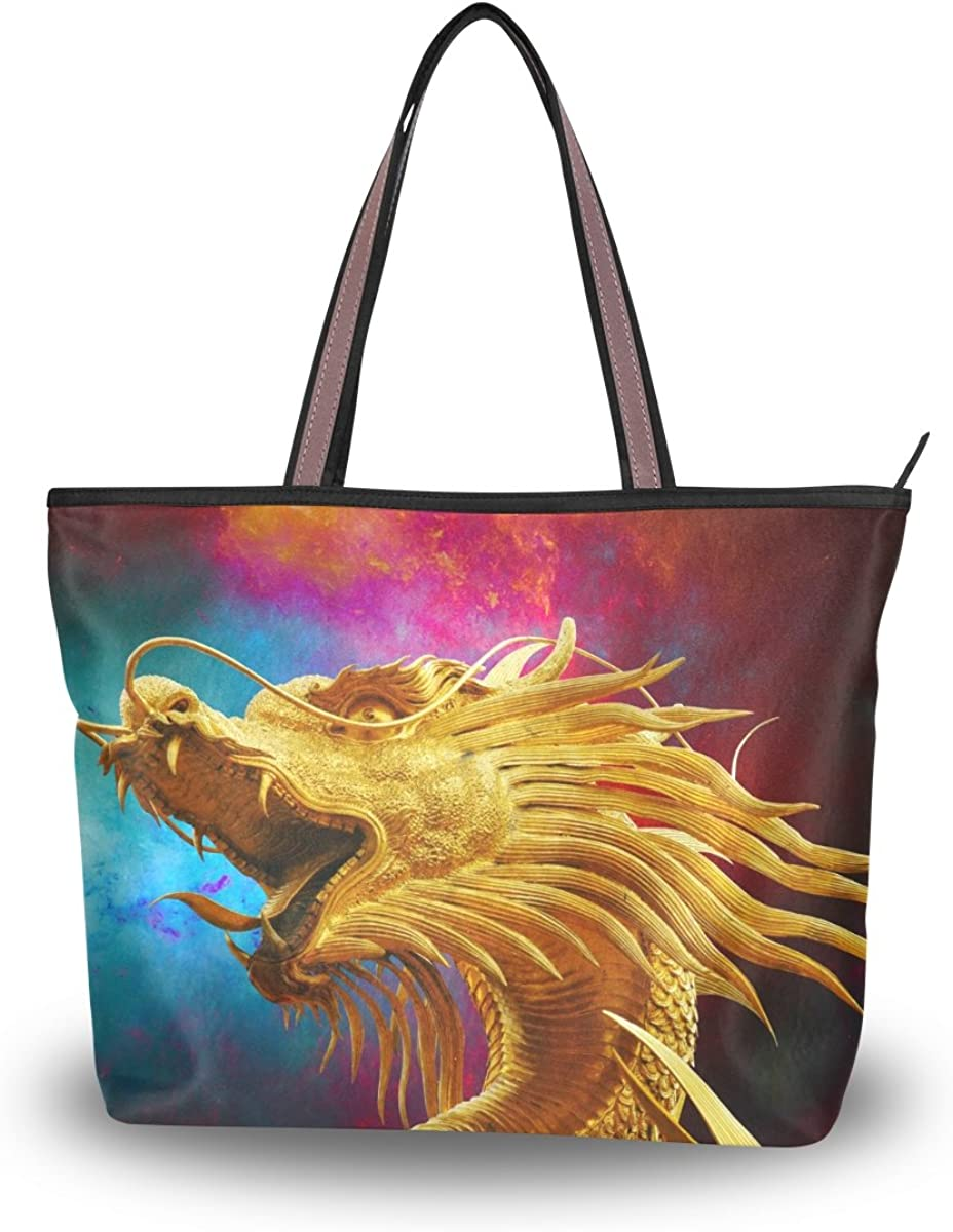 DEYYA Women Large Tote Bag Golden Faucet Shoulder Handbags Satchel Messenger Bags for Ladies
