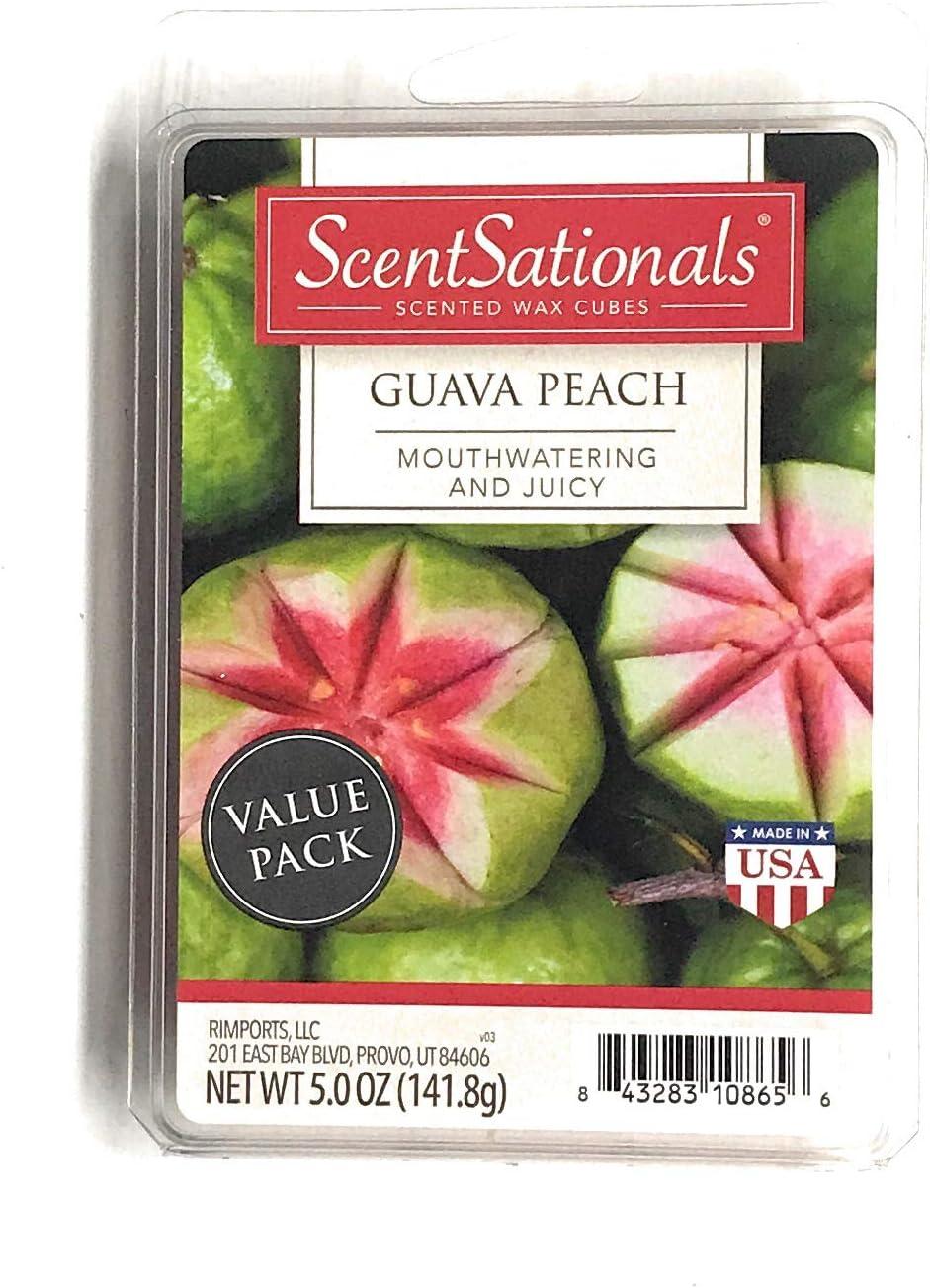Scentsationals Scented Wax Cubes (5.0 oz, Guava Peach)