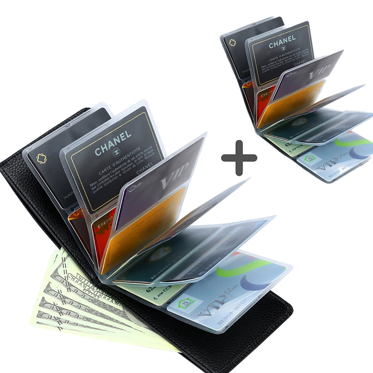 Wonder Wallet - Amazing Slim Thin RFID Security Credit Card Holder ...