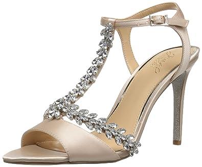 193499c2201 Amazon.com  Badgley Mischka Women s Maxi Heeled Sandal  Shoes