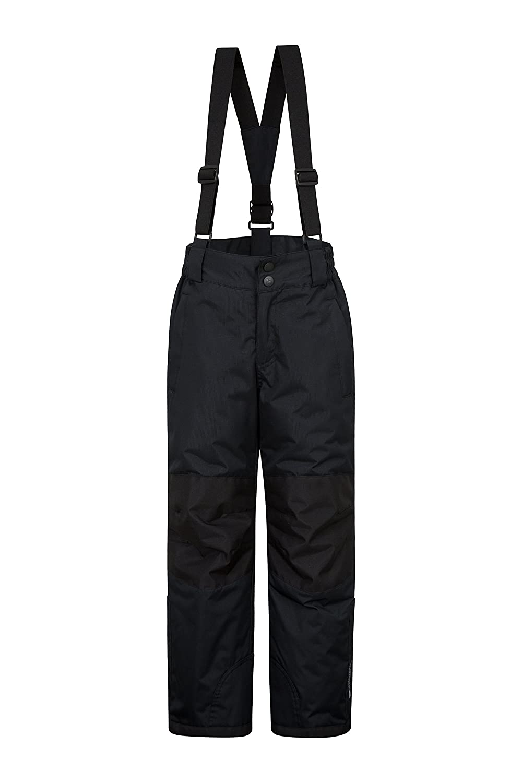 Mountain Warehouse Pantalon de Ski Raptor pour Enfants - Deux Poches,  imperméable à la Neige, Bretelles Amovibles et Ouverture Cheville zippée -  pour ... 9322cd6b0ae