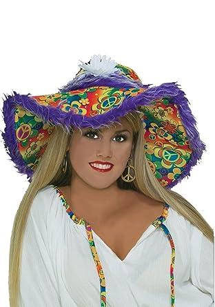Amazon.com: Floppy Sombrero hippie disfraz accesorio: Clothing