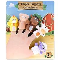 aeioubaby.com Marionetas de Dedo para niños y bebés