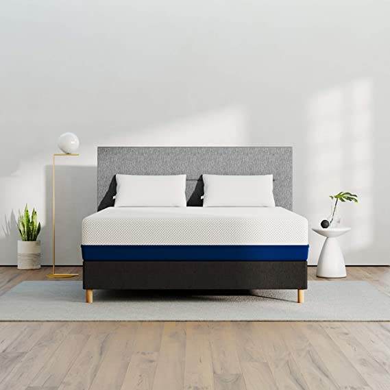 AMERISLEEP AS4 Memory Foam Mattress - QUEEN (MEDIUM SOFT) - Bed in a Box | Celliant Cover | Bio-Pur Plant Based Material | Cooler than Memory Foam | USA | 20-Yr Warranty