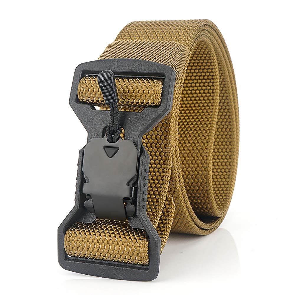 Cintura Casual con Fibbia Magnetica Ad Alta Traspirabilit/à E Asciugatura Rapida per Sport e Caccia all/'Aria Aperta Cintura Militare S.Lux Cintura Intrecciata in Nylon