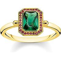 THOMAS SABO Women Vermeil Ring TR2264-973-7-54