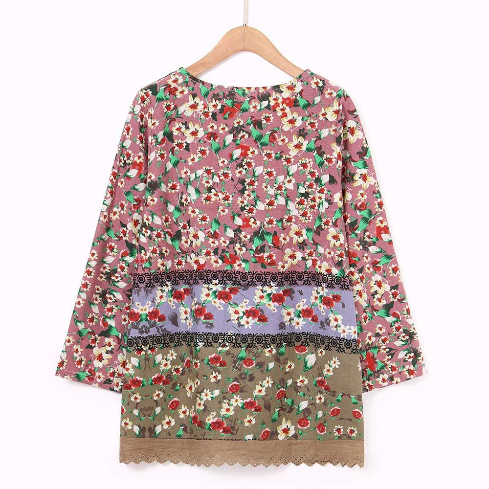 5f30dd4485134 SamMoSon Women s Long Sleeve Mandarin Polo Tshirt