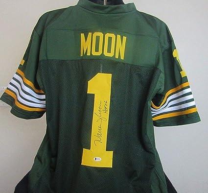 1e858009c Image Unavailable. Image not available for. Color  Warren Moon Autographed  Signed Edmonton Eskimos Jersey Signature ...