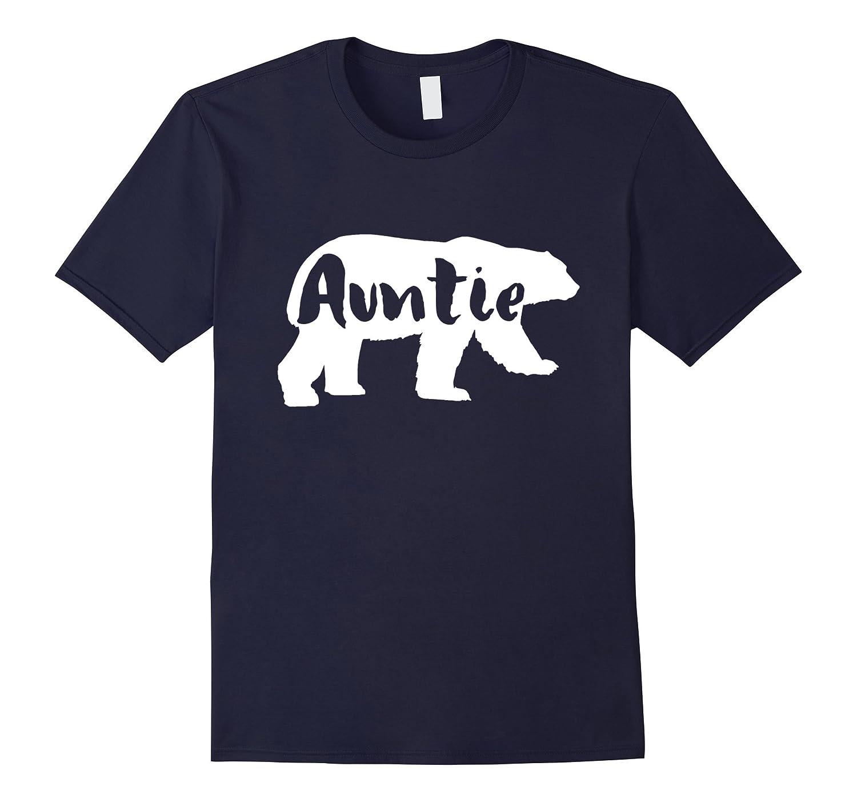 Auntie Bear t shirt Mama and Papa Bear-Art