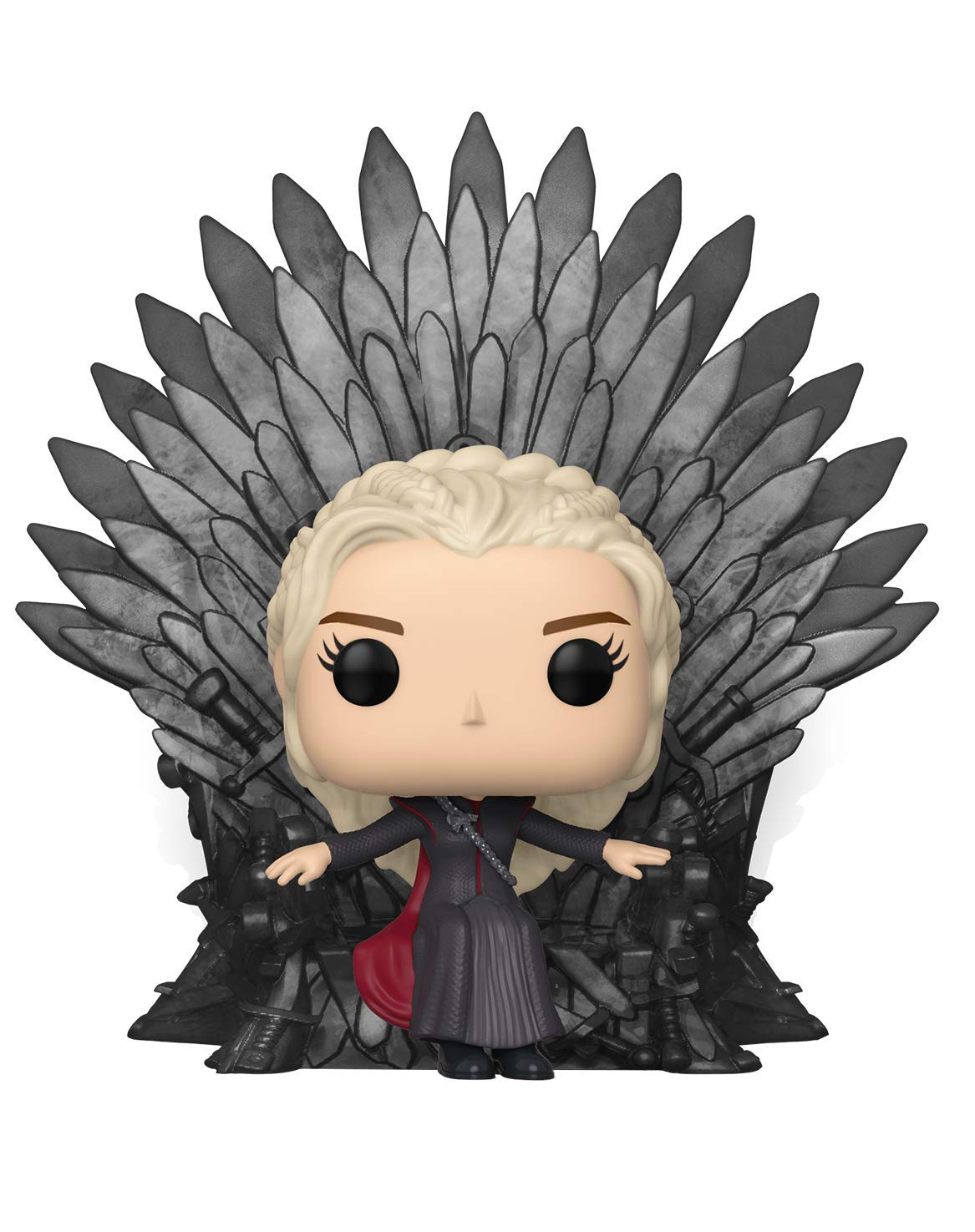 Funko- Pop Deluxe: Game of S10: Daenerys Sitting on Throne Figura Coleccionable, Multicolor (37792)