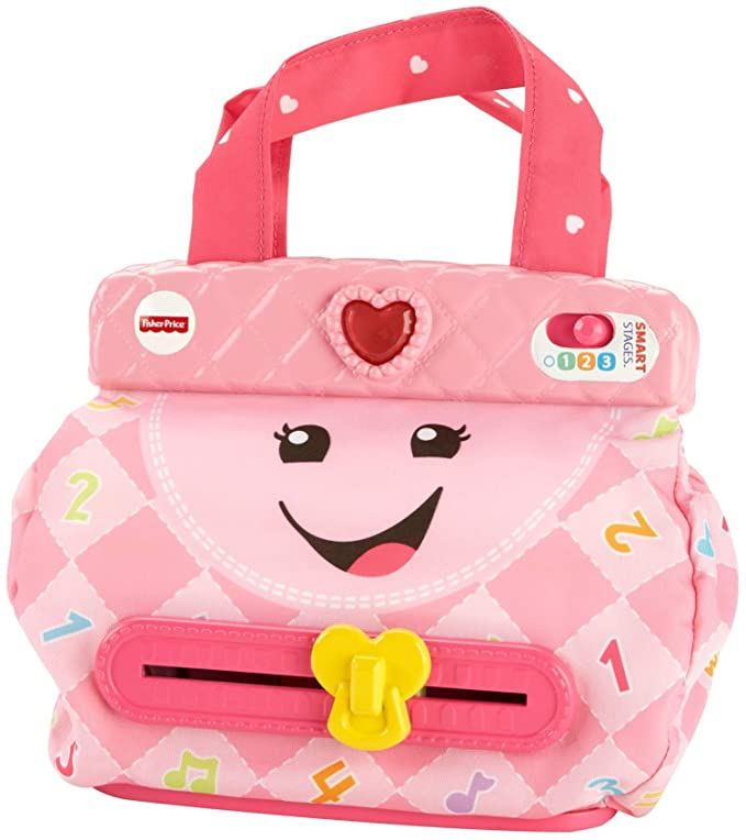 Amazon.com: Fisher-Price Laugh & Learn My Smart Purse: Toys ...