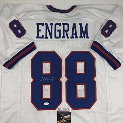 buy online 930cd e34c5 Autographed/Signed Evan Engram New York Color Rush Football ...