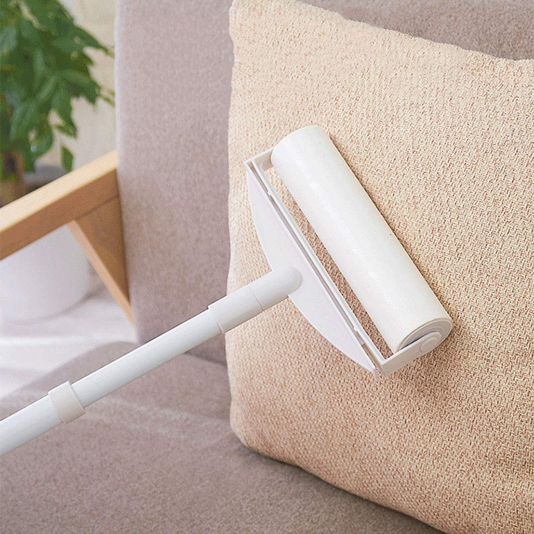 XINGYUE Lint Roller Pet Hair Lint Removers with Long Handle for Clothes Animal Car by XINGYUE (Image #4)