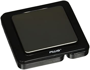 American Weigh Scales BL-1KG Báscula electrónica de cocina Negro - Báscula de cocina (