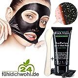 Black Purifying Peel-of Maske + 1 Beauty-Spatel zur Tiefenreinigung der Gesichtshaut (T-Zone) - 50ml | *Original* | Natürliche Gesichtsmaske aus Aktivkohle (Kokosnuss) + stabiler Spatel| 100% Natürlich & Original | Herrvorragende Qualität | Tiefenreinigende Gesichtshautmaske gegen Mitesser, Akne und unreine Haut - Entfernt Öl & Schmutz | inklusiver stabiler Kunststoff Beauty-Spatel (Kostenlos)