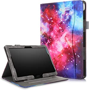 XBE Multifunctional Case for Lenovo Tab M10 TB-X605F TB-X505F / P10 X705F with Multiple Viewing Angles and Hand Holder , Galaxy