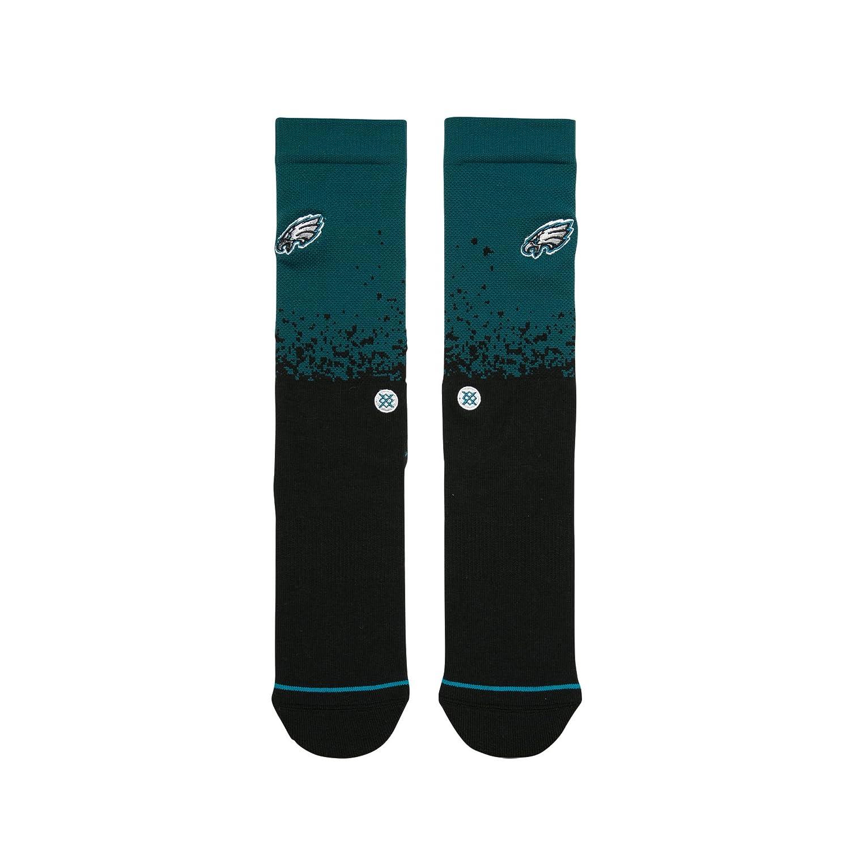 STANCE Eagles Fade Socks Men Black Large M558C18EAG