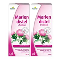 Hübner DOPPELPACK Mariendistel L-Tonik Trinksaft 2x 250 ml