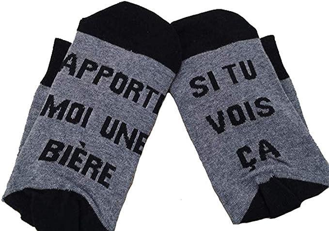 Femme Its a Boy Nanushki Chaussettes Mottif gar/çon Chaussettes Couleur b/éb/é Homme cigogne Fantaisie Humour poussette