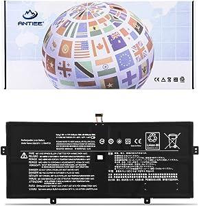 ANTIEE 78Wh L15M4P23 L15C4P21 Laptop Battery for Lenovo Yoga 910 Glass 910-13IKB 910-13IKB-80VF00BVHH 80VF 80VG Yoga 5 Pro 512G Series L15C4P22 L15M4P21 5B10L02190 5B10L22508 10160mAh