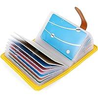 10 Colores Tarjetero para Tarjeta de Credito Cuero