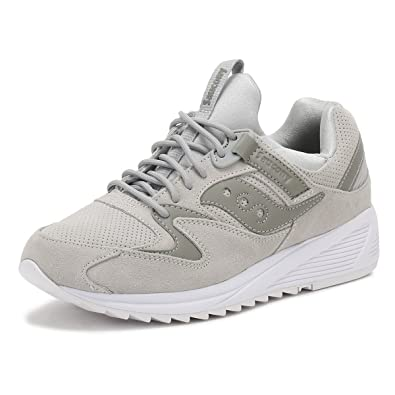 c983eac705b0 Saucony Mens Grey Grid 8500 HT Trainers  Amazon.co.uk  Shoes   Bags