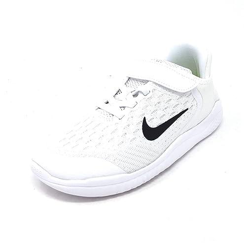 free shipping ec424 0ae3c Nike Free Rn 2018 (PSV) Little Kids Ah3452-100 Size 1 White