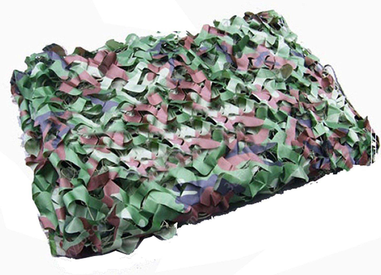 Yosoo Filet de Camouflage Woodland Camouflage Militaire Motif Camouflage Idé al pour la Chasse, Tir,Pê che 2m*3m Pêche 2m*3m