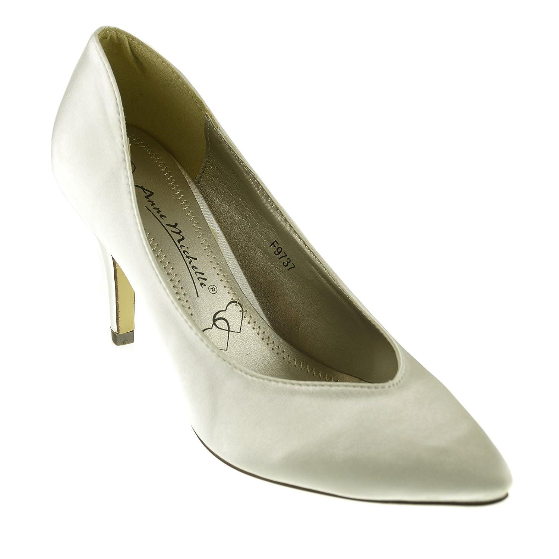 sposa raso scarpe da donna Footwear Donna abito tacchi in Kick Tw4z0qc