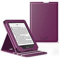 Capa Kindle Paperwhite Gerações Anteriores (Não Compatível com Novo Kindle Paperwhite 10ª Geração) WB® Premium Vertical Auto Hibernação - Roxa