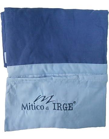 47fdbdc210 IL MITICO DI IRGE telo lettino mare in microfibra con tasche laterali ed  elastici antiscivolo