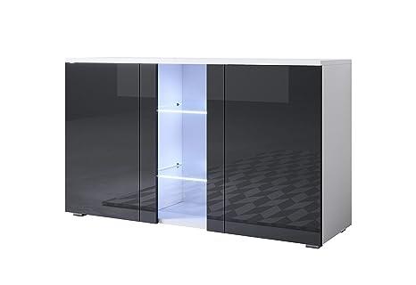 Credenza Con Led : Muebles bonitos letti e mobili credenza modello luke a1 con led
