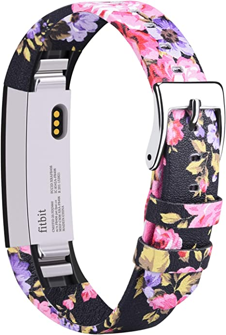 Tobfit Leather Bands Compatible for Fitbit Alta Bands and Fitbit Alta HR Bands