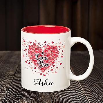 i love you ashu name