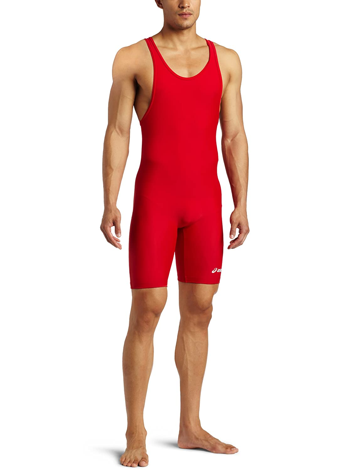 e6d5d9c387dc Amazon.com   ASICS Men s Solid Modified Singlet   Wrestling Singlets    Sports   Outdoors