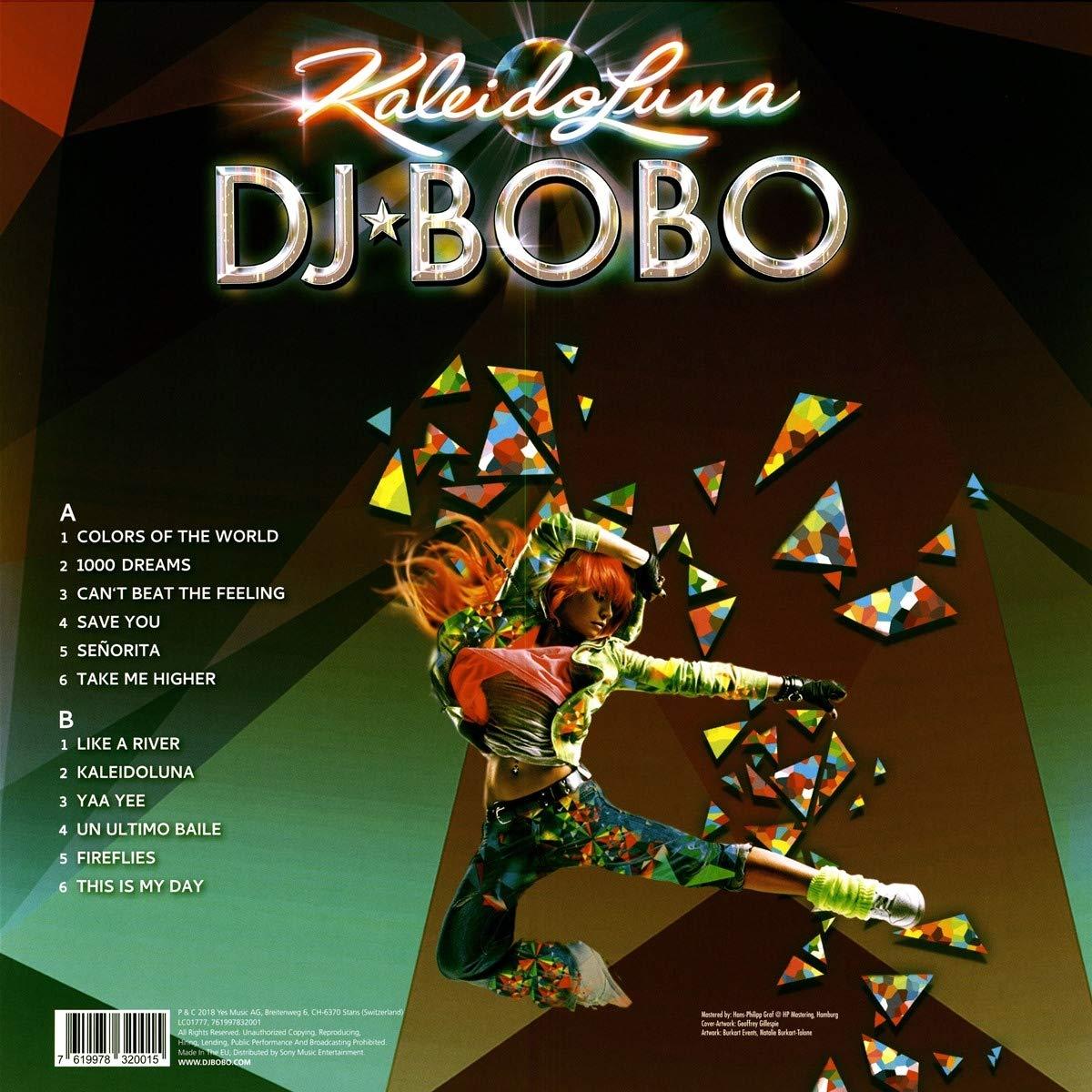 DJ Bobo - Kaleidoluna [Vinyl LP] [VINYL] - Amazon.com Music