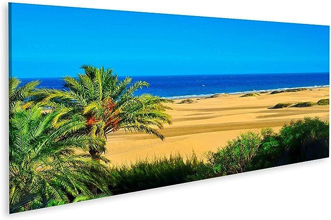 Cuadro Cuadros Vista de la Reserva Natural de Dunas de Maspalomas en Gran Canaria Islas Canarias España Impresión Lienzo Formato Grande Cuadros Modernos RCA: Amazon.es: Hogar