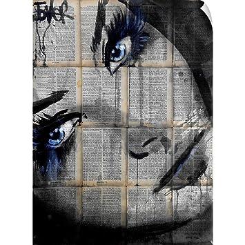 Amazon.com: CANVAS ON DEMAND Loui Jover Wall Peel Wall Art ...
