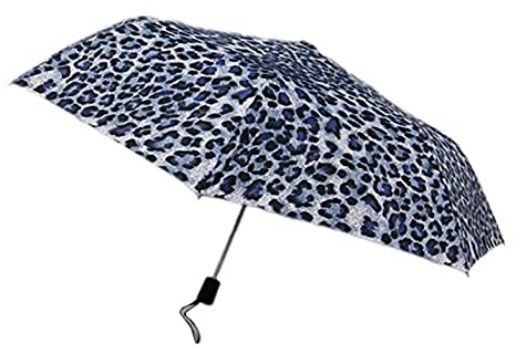 Muchos la leopardo teleskom paraguas Varios Colores azul