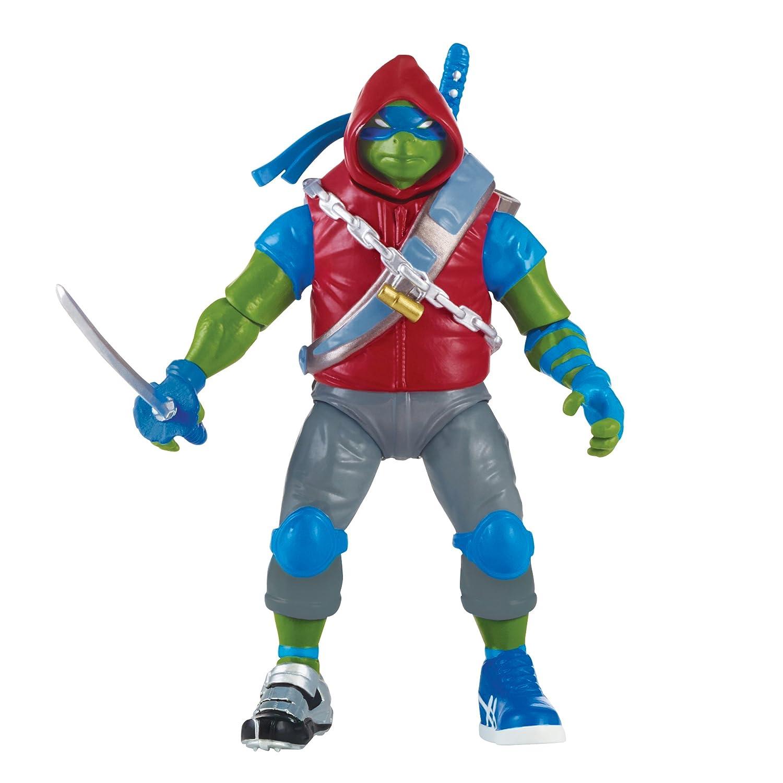 Turtles Leonardo im Stahlrüstung - Teenage Mutant Ninja Turtles Figur - bewegliche Figur ca 12 cm