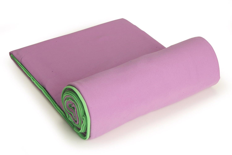 YogaRat SportLite Beach Blanket - Manta para acampada, color lavender/lime, talla UK: 76 x 64 Inch: Amazon.es: Deportes y aire libre