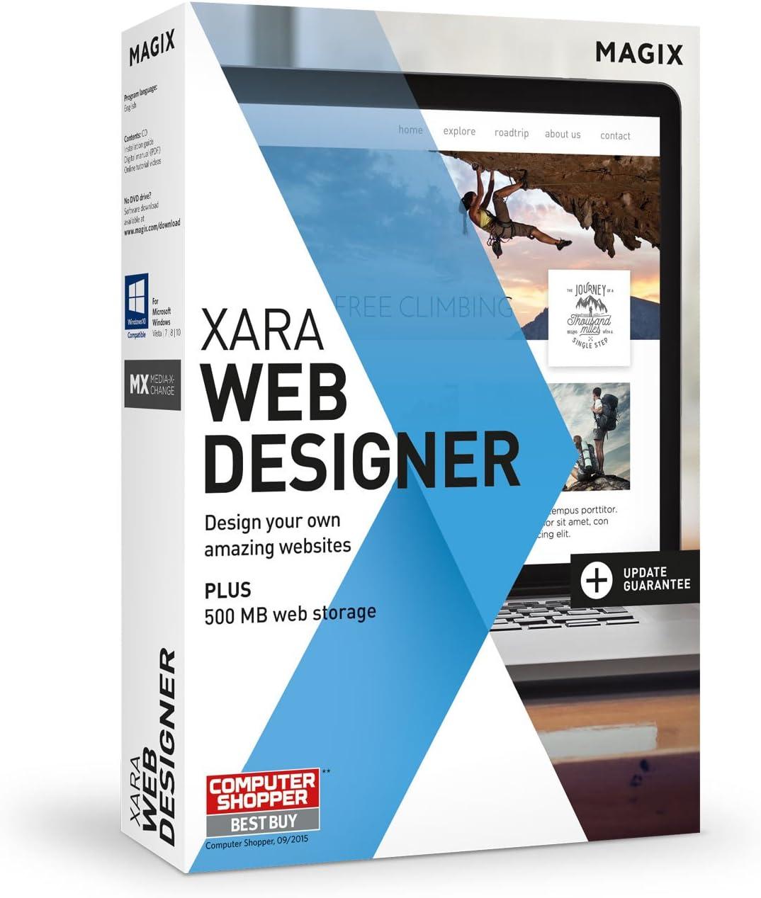 Amazon Com Xara Web Designer 15 Easily Create Your Own Websites Software