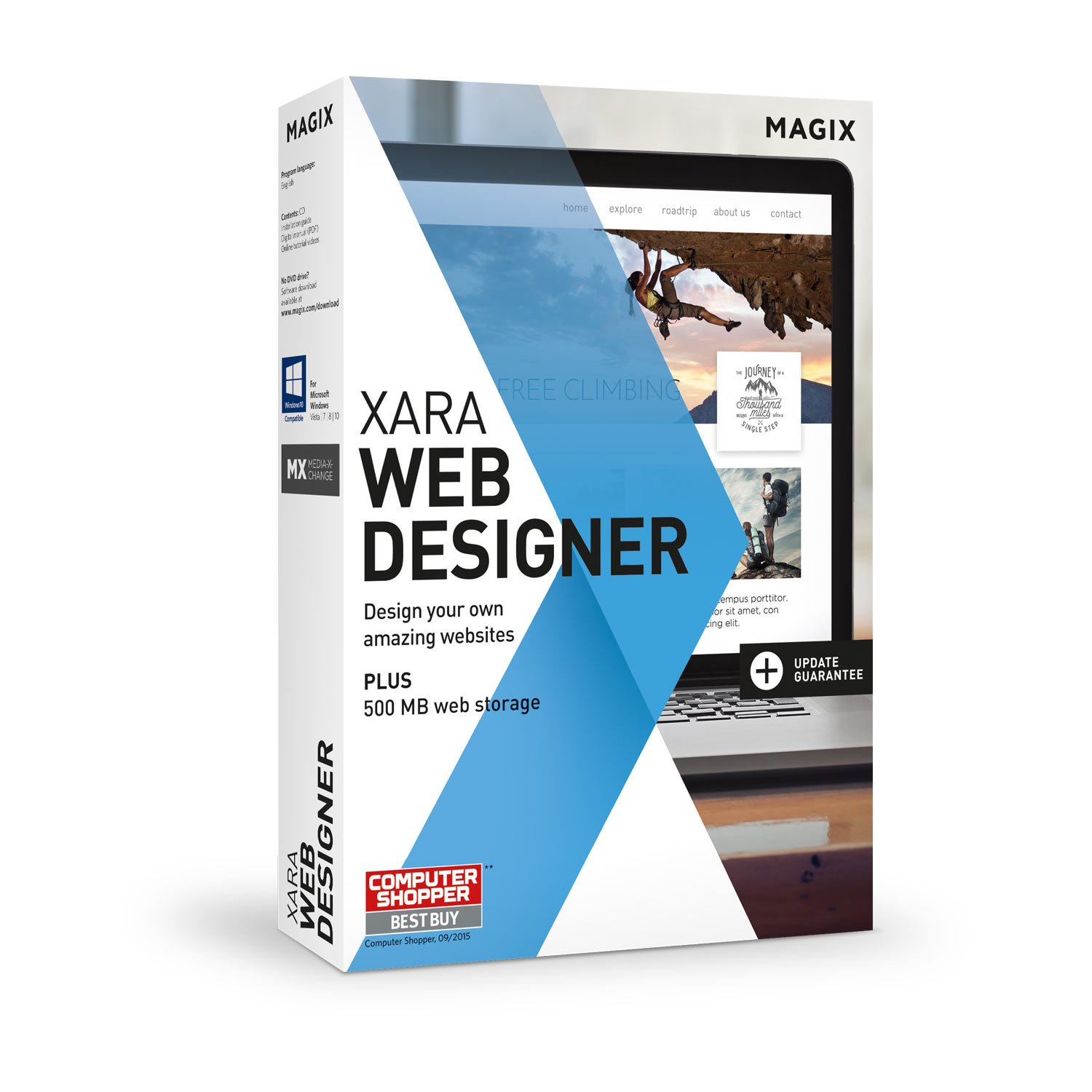 Xara Web Designer - 15 - Easily create your own websites by MAGIX