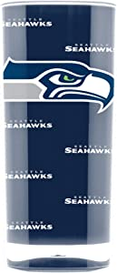 Duck House NFL Seattle Seahawks 16oz Insulated Acrylic Square Tumbler White