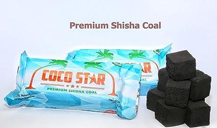 24 cubos de Premium carbón Shisha narguile Sheesha cubos de carbón barbacoa de carbón (90