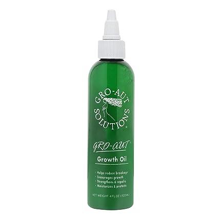 gro-aut pelo aceite de crecimiento 4oz reparación y proteger generar un rápido crecimiento pelo