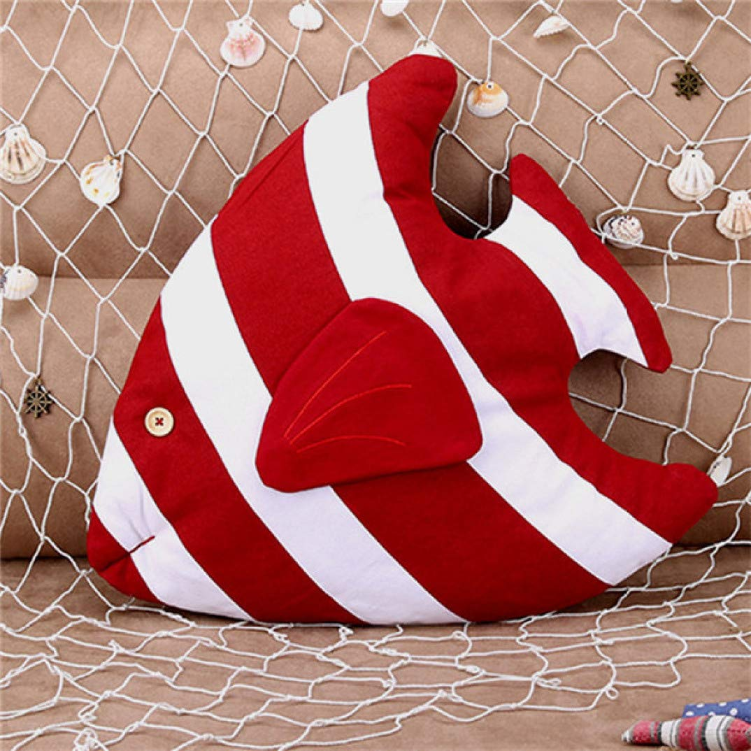 SANOMY Fish Decorative Cushion 3D Throw Pillow with Inner Home Decor Sofa Car Bed Emulation Toys for Kids Gift by SANOMY