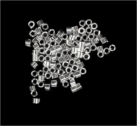 Sterling Silver Beads 2.5mm Round  Heavy Wall 100 pc USA Made Free Ship