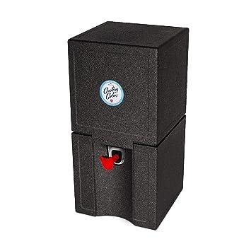 Enfriador de cerveza de Cooling Cubes, para 5 litros, enfriador de barriles de cerveza, color negro: Amazon.es: Deportes y aire libre